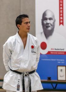 Ramon Wewengkang Chefinstruktor JKA NL (6. Dan)